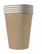20 bicchieri in cartone riciclabile kraft
