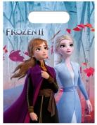 6 sacchetti in plastica Frozen 2™