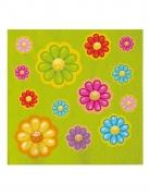 20 tovaglioli di carta margherite colorate