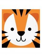 16 tovaglioli di carta piccola tigre