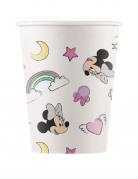 8 bicchieri compostabili Minnie e l'unicorno™