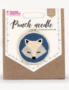 Kit cucito Punch Needle volpe