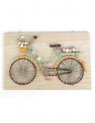 Quadro string art bicicletta