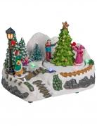 Villaggio di Natale luminoso