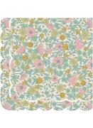 16 tovaglioli di carta a fiori shabby